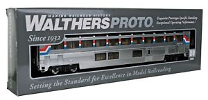 Walthers Proto Amtrak (AMTK) Superliner I Lounge, Phase 3, 920-11041