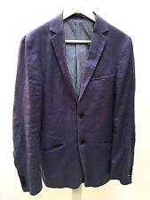 Leinen Herren Jacke Sakko Supply Blazer Sport Suit Dandy Stone Polo Gr. M Gr. 94