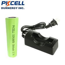 1× ICR 18650 3.7V 3000mAh Rechargeable Li-Ion Mod Battery + 18650 1Solt Charger