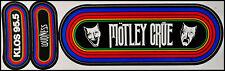 Motley Crue / Loudness 80's KLOS Promo Rainbow Bumper Stickers Theatre Of Pain