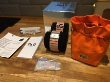 Dolce & Gabbana Pink Ladies Watch In Box