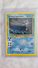 Shining Gyarados Holo Pokemon Neo Revelation 65/64 Secret Rare Mint Condition