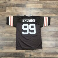 Vintage Cleveland Browns Football Jersey Youth Boys Large 14-16 Cavs Indians USA