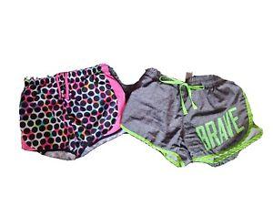 Set Of 2 Girls Athletic Shorts Size 10-12, 10, Justice, Xersisor