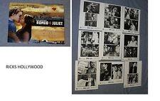 Original ROMEO + JULIET 9 Photo Presskit Leonardo Dicaprio Claire Danes