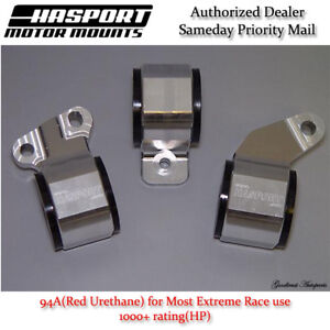 Hasport for 88-91 Honda Civic/CRX D-Series OBD0 Stock Replacement Mount Kit 94A