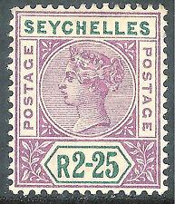 Seychelles Victoria Era (1840-1901) Stamps