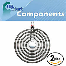2 Pack 5 Turns Stove Heating Element for Whirlpool RF263LXTQ3, Amana ARR626L
