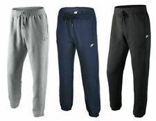 Nike Mens Tracksuit Bottoms Joggers Fleece 3D Logo Pants Black Grey Navy