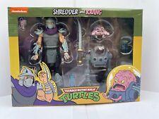 NECA SHREDDER & KRANG Teenage Mutant Ninja Turtles ? ?