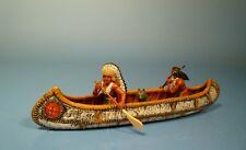 Lineol / Elastolin - Wild West – Indianer mit Kanu – 7cm Serie