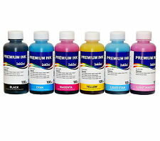600ML OF UNIVERSAL INK FOR REFILLABLE CARTRIDGES  T0801/T0806 STYLUS PHOTO R285