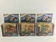 GALAXY RIDERS set of 3 Warriors Heroes Mastes of the universe he man like motu