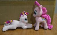 """My Little Pony Pinkie Pink 7"""" Plush Plus Plush Horse with Rainbow Mane and Tail"""