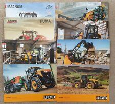 JOB LOT OF VARIOUS CASE/IH & JCB SALES BROCHURES
