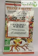 Biopastilles - Tisanes à sucer Réglisse / Sauge Bio - 15 g