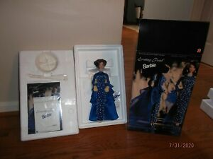 1995 PORCELAIN EVENING PEARL BARBIE PRESIDENTIAL COLLECTION NEW NRFB
