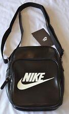 Nike Shoulder Bag Heritage Flight Portable Messenger Bag Black 3 Pockets Sports