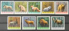 - Polen Poland 1965 Mi. Nr. 1635-1643 ** postfrisch MNH Waldtiere forest fauna