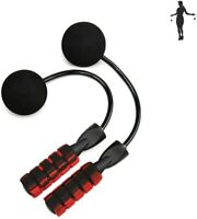 Wireless Ropeless Jump Rope Adjustable Cordless Skipping Weighted Fitness Gym US