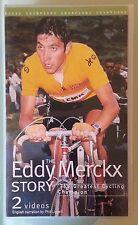 THE EDDY MERCKX STORY    VHS VIDEOTAPE  2 tape set
