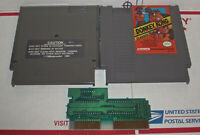 Donkey Kong Classics Nintendo Nes Cleaned & Tested Authentic Game works Great