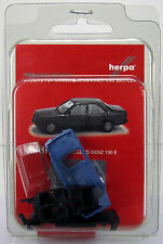 Herpa 012409-003 Herpa minikit: mercedes-benz 190 e-azul/Blue