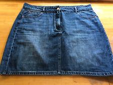 Next BNWT Denim Mini Skirt - Size 18 regular