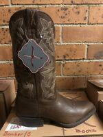 "Twisted X 13"" Men's Leather Western Cowboy Boots Size 8 *Brand New* RRP$300"