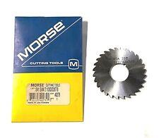 "New listing Morse 2-1/2"" x 3/32"" x 7/8"" Plain Metal Slitting Saw High Speed Steel Usa Made"
