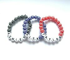 Personalised Children's / Boys / Kids Bracelet - 3 Colours - Any Name You Want!