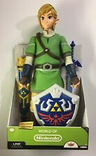 """The Legend Of Zelda Deluxe Link 20"""" Figure World of Nintendo"""