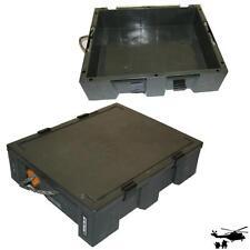 Munitionskiste Kunststoff  46,5 x 37,5 x 10,5 cm Box Case Transportkiste gebr.