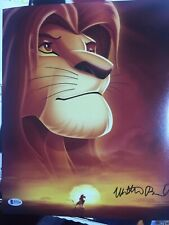 Beckett certified Lion King Simba Mathew Broderick Bas signed 11x14 photo