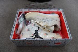 Air Jordan 4 Sail Off White