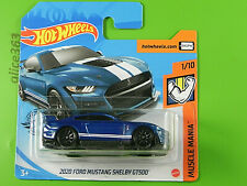 HOT WHEELS 2020  -  2020 Ford Mustang Shelby GT500  -  248  -  neu in OVP