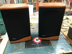 Baby Advent III Wood Bookshelf Speakers with recently replaced Foam Surrounds