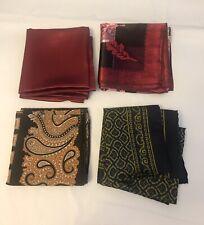 Vintage Handkerchief Lot Of 4