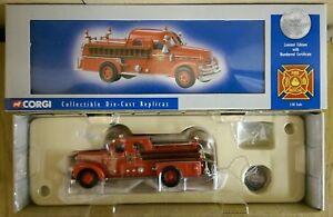 Corgi US50501 Seagrave Anniversary Pumper Columbus Ltd Edition No. 0002 of 5800