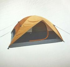 AmazonBasics 4-Person Dome Camping Tent With Rainfly 9 x 7 x 4 Feet, Orange