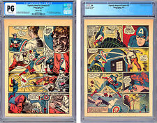 CAPTAIN AMERICA #3 CGC PG *FIRST STAN LEE STORY* SIMON & KIRBY 23rd PG ONLY 1941