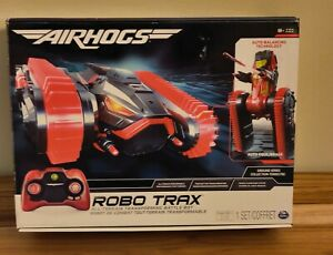 Robo Trax Air Hogs R/C Tank to Robot Transformable New Radio Factory Sealed!