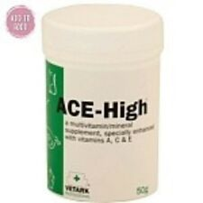 ACE-High Powdered Vitamin Supplement for Pet Birds & Parrots - 50g