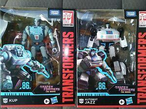 Transformers Studio Series Movie Jazz Kup  In Hand Case Fresh Hasbro Figure Lot