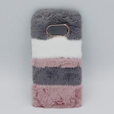 Voor Samsung S8 Plus - pluizig hoesje - 3 kleuren