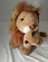 Plush Lion and cub stuffed animal