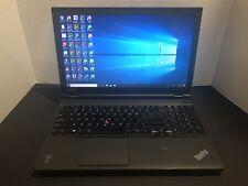 Lenovo ThinkPad T540P: Win10, Ableton Live 9,Adobe CS6 MC, Quickbooks,Office etc