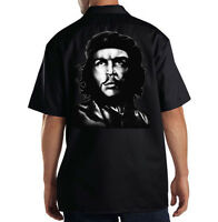 Che Guevara Hispanic Screen Printed  Black Cotton T-Shirts ChTs867  ^*