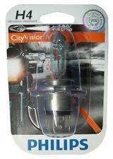 Philips H4 City MotoVision 60/55 Watt 12 Volt Motorrad Lampe Vibratrionsfest 12V
