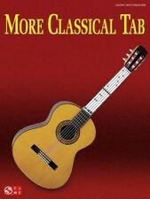 More Classical Tab Guitar With Tablature Book NEW!